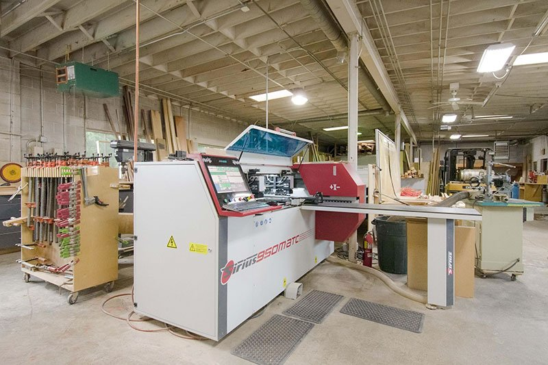 MKE Cabinetry manufacturing shop