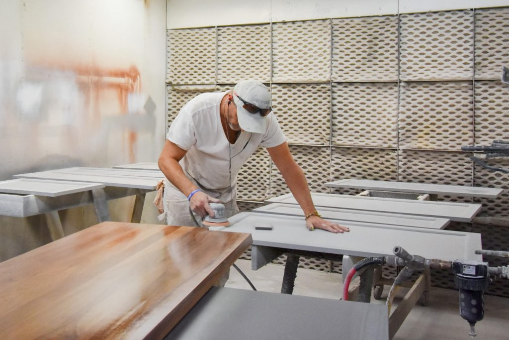 Making cabinets at MKE Cabinetry