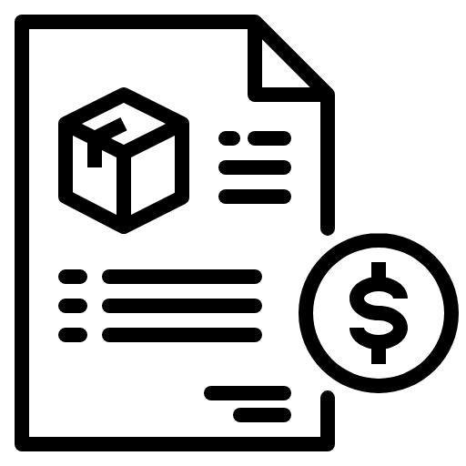 project plan estimate quote icon